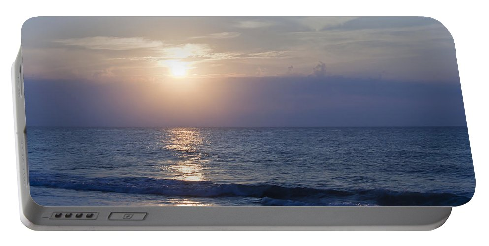 Sunrise Portable Battery Charger featuring the photograph Good Day Sunshine by Teresa Mucha