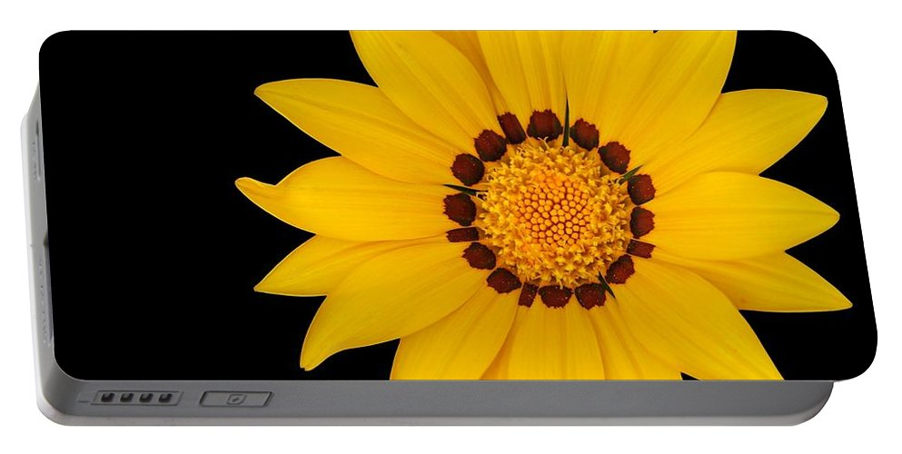 Flower Portable Battery Charger featuring the photograph Gorgeous Gazania by Sabrina L Ryan