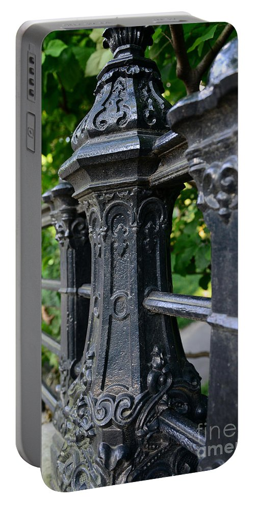 Gothic Design Portable Battery Charger featuring the photograph Gothic Design by Paul Ward