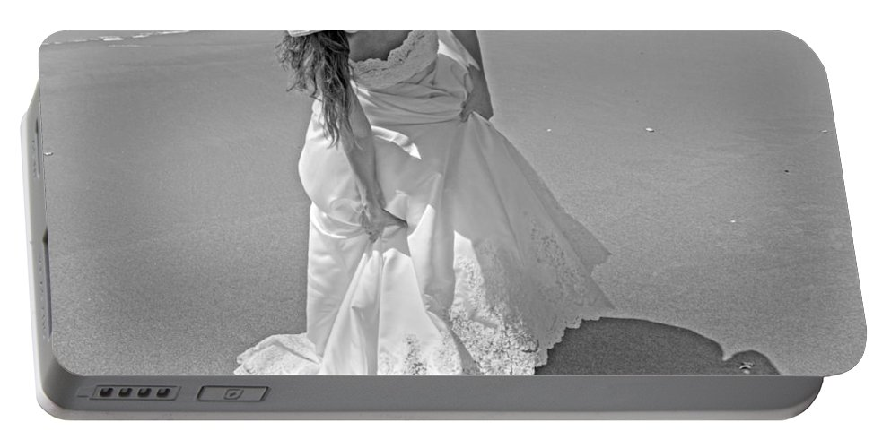 Topsail Portable Battery Charger featuring the photograph Gown Gathering by Betsy Knapp