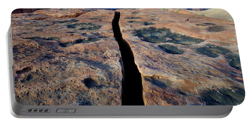 Grand Canyon Portable Battery Charger featuring the photograph Grand Canyon Dividing Line by Bob Christopher