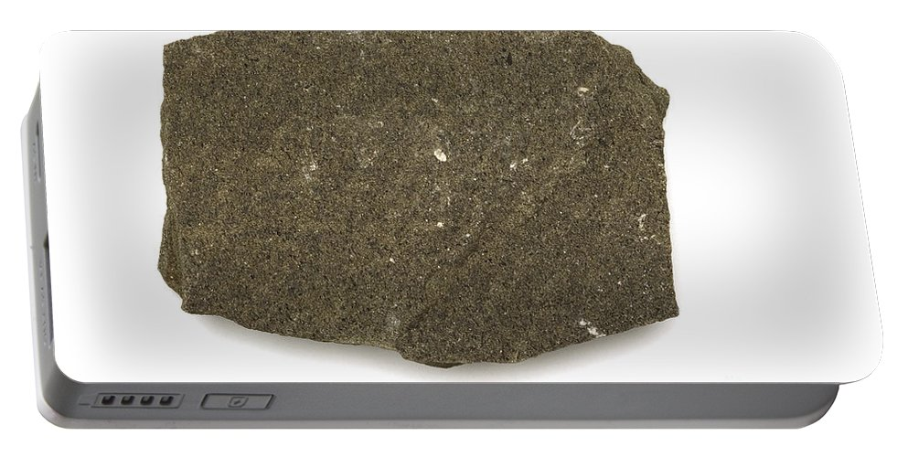 Geology Portable Battery Charger featuring the photograph Graywacke by Ted Kinsman