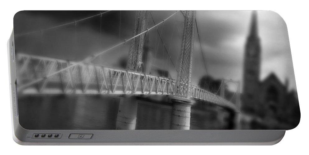 Greig Street Bridge Portable Battery Charger featuring the photograph Greig Street Bridge by Joe Macrae