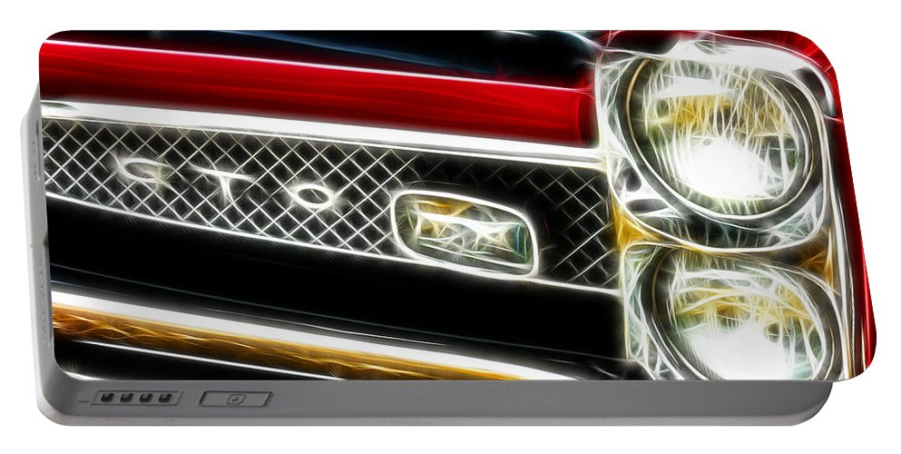 Gto Portable Battery Charger featuring the digital art Gto 2 by Adam Vance