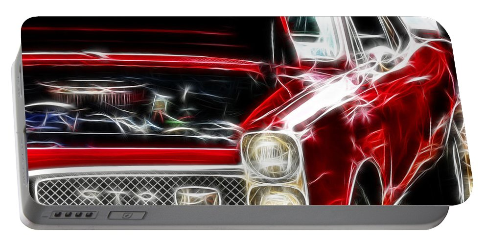 Gto Portable Battery Charger featuring the digital art Gto 3 by Adam Vance