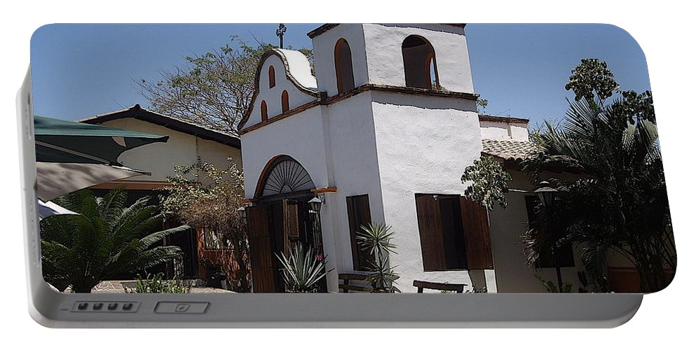 Aimee Mouw Portable Battery Charger featuring the photograph Hacienda by Aimee Mouw
