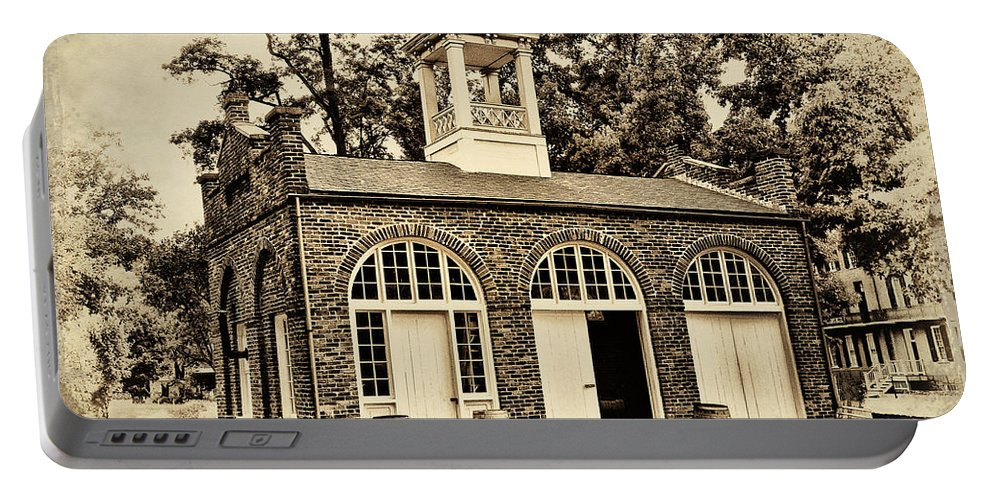 Harpers Ferry Armory Portable Battery Charger featuring the photograph Harpers Ferry Armory by Bill Cannon
