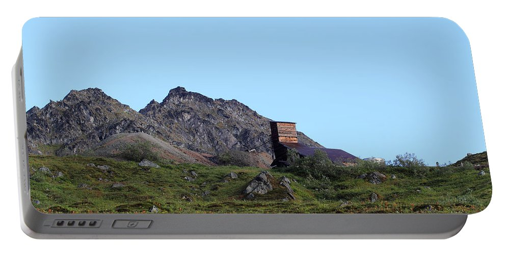 Doug Lloyd Portable Battery Charger featuring the photograph Hatcher Pass Mine by Doug Lloyd