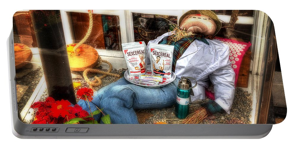Acrylic Prints Portable Battery Charger featuring the photograph Health Food Store by John Herzog