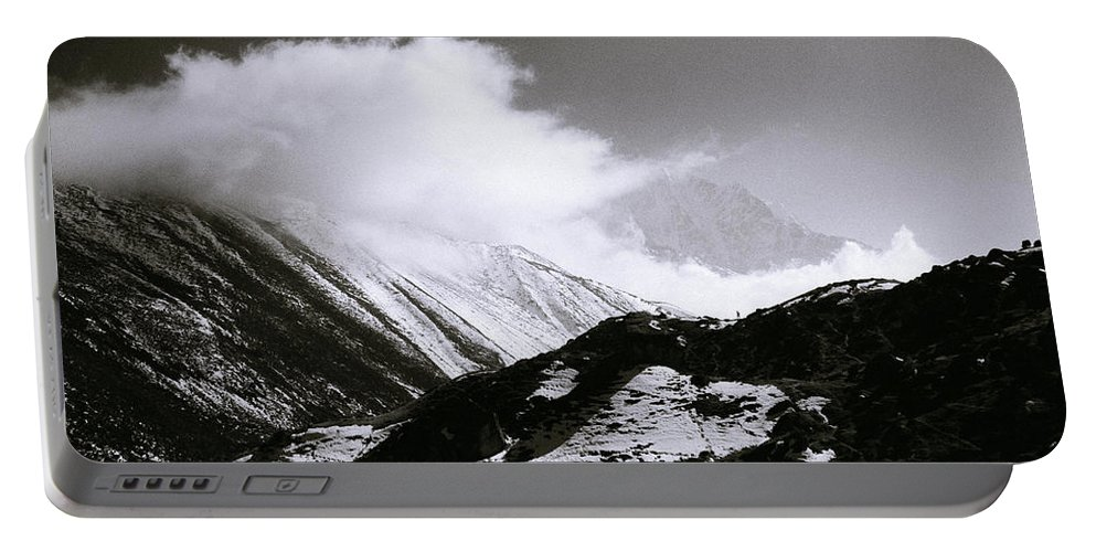 Dramatic Landscape Portable Battery Charger featuring the photograph Himalayan Mountains by Shaun Higson