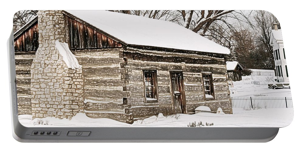Holiday Greetings Portable Battery Charger featuring the photograph Holiday Greetings by Michael Peychich