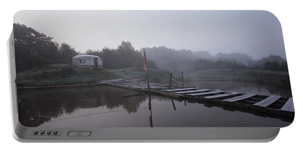 Caravan Portable Battery Charger featuring the photograph Holiday Island by Dawn OConnor