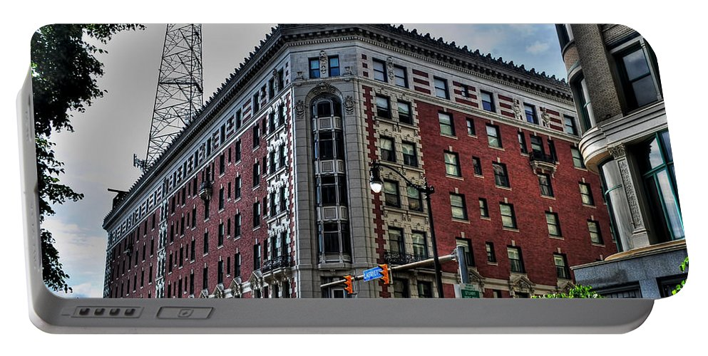 Portable Battery Charger featuring the photograph Hotel Lafayette Series 0002 by Michael Frank Jr