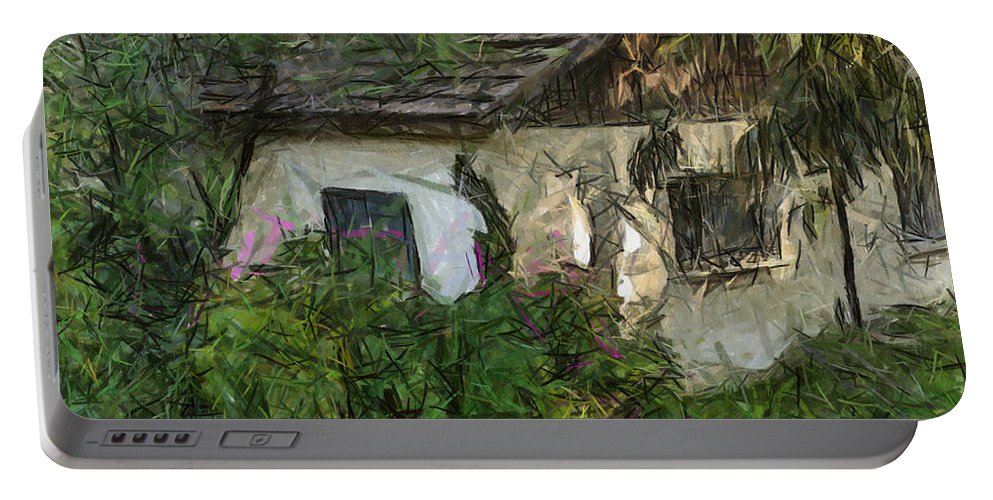 House Portable Battery Charger featuring the photograph House For Sale by Michael Goyberg