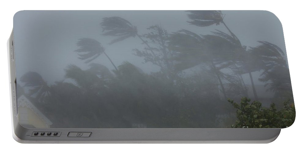 Hurricane Irene Portable Battery Charger featuring the photograph Hurricane Irene by Jim Edds and Photo Researchers