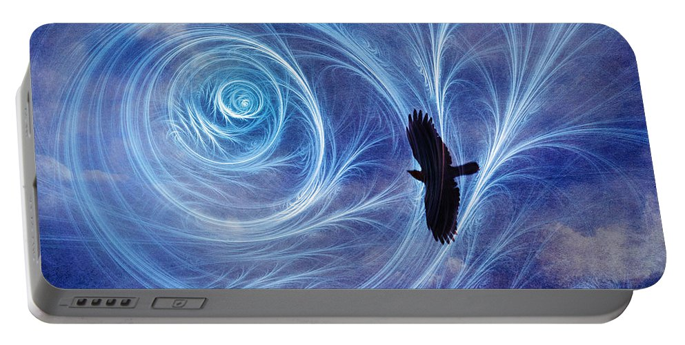Icarus Portable Battery Charger featuring the photograph Icarus by Tammy Wetzel