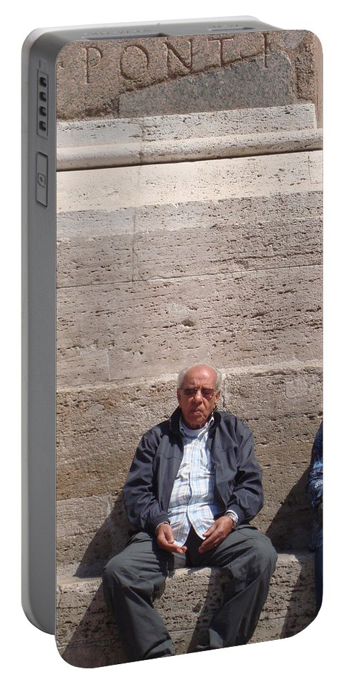 Pray Portable Battery Charger featuring the photograph In Prayer by David Rucker