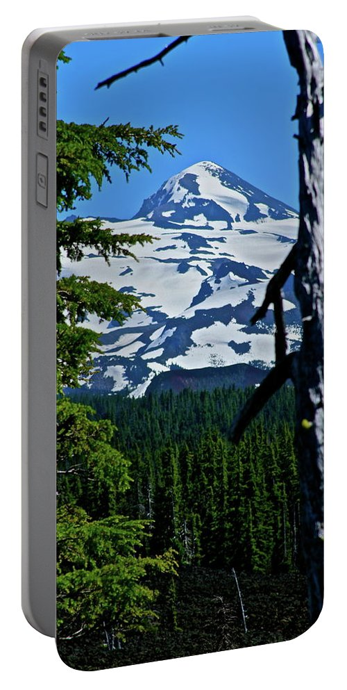 Dee Wright Observatory Portable Battery Charger featuring the photograph In The Middle Yet Again by Laddie Halupa