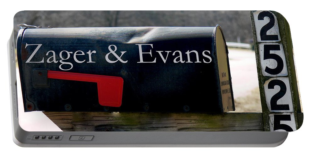 Tn Portable Battery Charger featuring the photograph In The Year 2525 by Ericamaxine Price