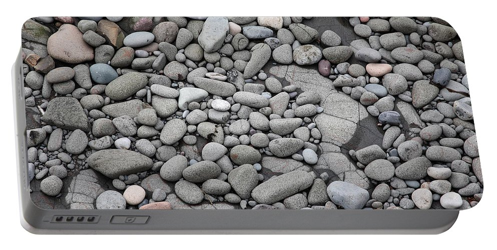 Rock Portable Battery Charger featuring the photograph Intertidal Shore by Ted Kinsman
