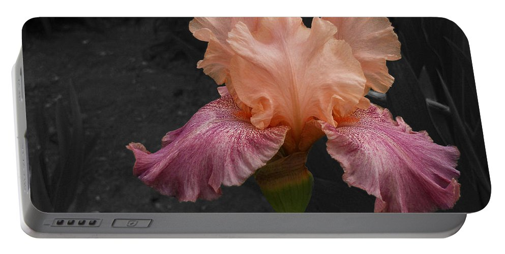 Portable Battery Charger featuring the photograph Iris2 by David Pantuso