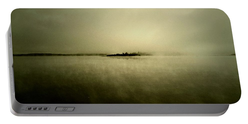 Photographer Framed Prints Portable Battery Charger featuring the photograph Island Of Mystic by The Artist Project