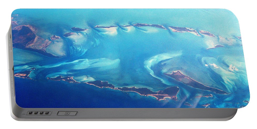 Islands Portable Battery Charger featuring the photograph Islands Of The Caribbean by Jerome Stumphauzer
