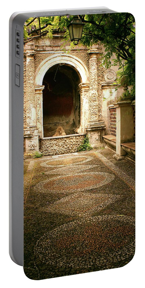 Italy Portable Battery Charger featuring the photograph Italian Hideaway by Michael Cryer