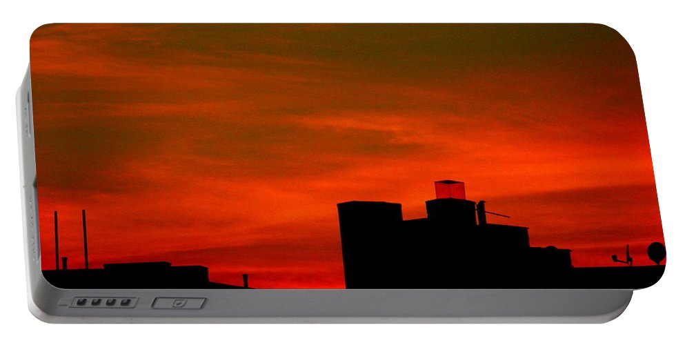 Sunset Portable Battery Charger featuring the photograph June 2 2009 by Mark Gilman