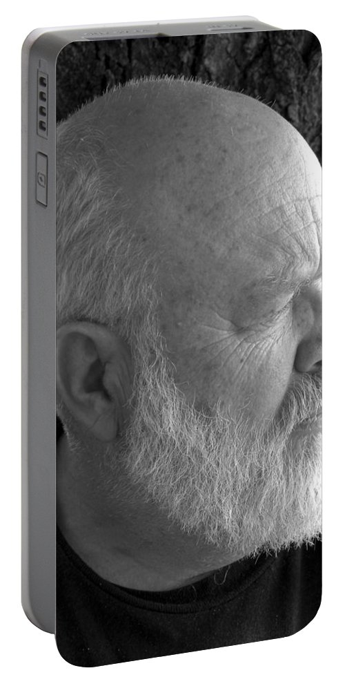 Jerry Portable Battery Charger featuring the photograph Just Jerry by Sheri Lauren