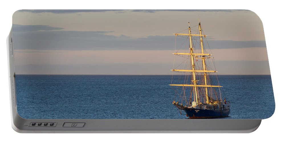 Boat Portable Battery Charger featuring the photograph Kaisei by Heidi Smith