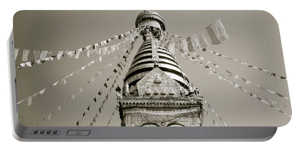 Asia Portable Battery Charger featuring the photograph Kathmandu by Shaun Higson