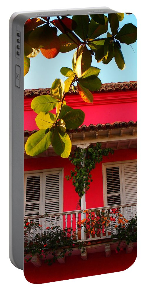 La Casa De Los Duendes Portable Battery Charger featuring the photograph La Casa De Los Duendes by Skip Hunt