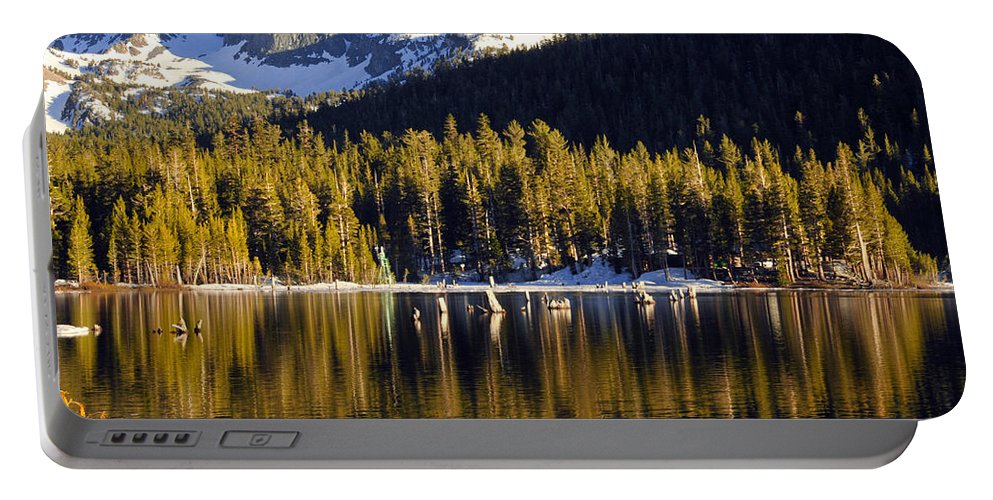 Lake Mary Portable Battery Charger featuring the photograph Lake Mary Golden Hour by Lynn Bauer