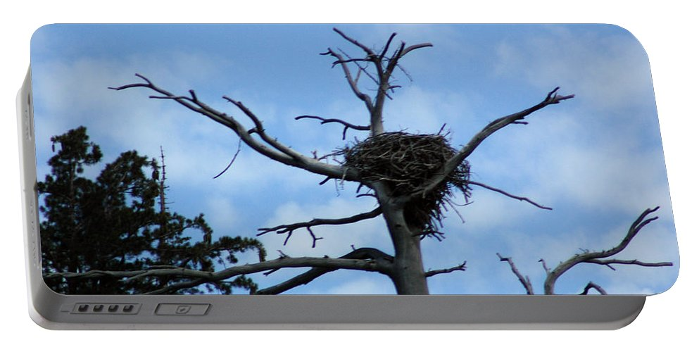 Usa Portable Battery Charger featuring the photograph Lake Tahoe Eagle Nest by LeeAnn McLaneGoetz McLaneGoetzStudioLLCcom