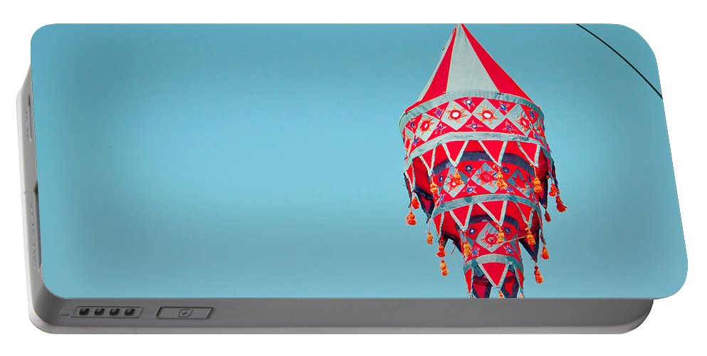 Art Portable Battery Charger featuring the photograph Lantern by Tom Gowanlock