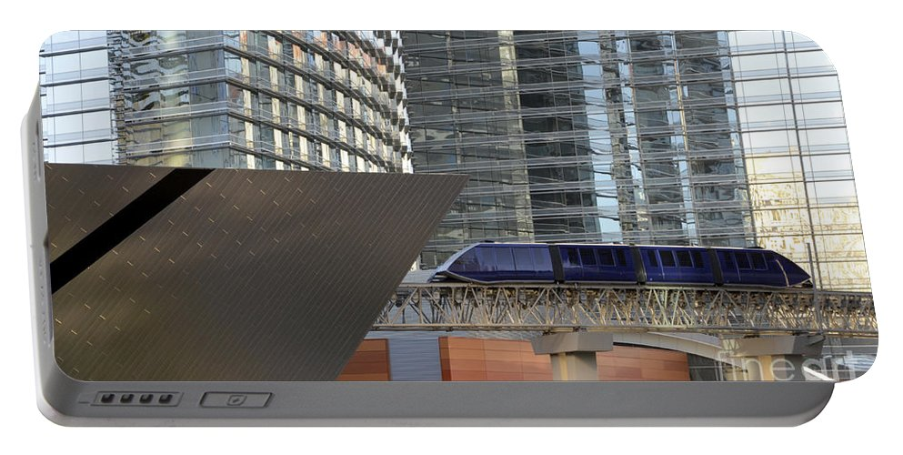 Las Vegas Portable Battery Charger featuring the photograph Las Vegas 4 by Bob Christopher