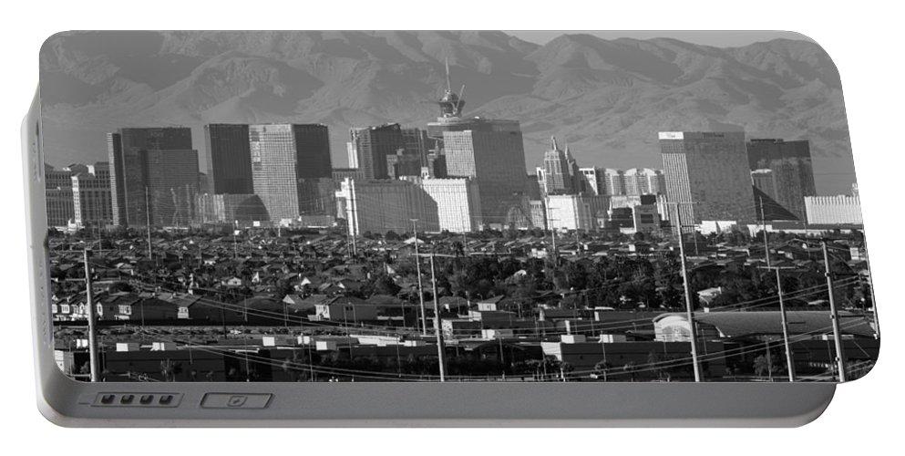 Southwest Portable Battery Charger featuring the photograph Las Vegas Suburbs by Julie Niemela