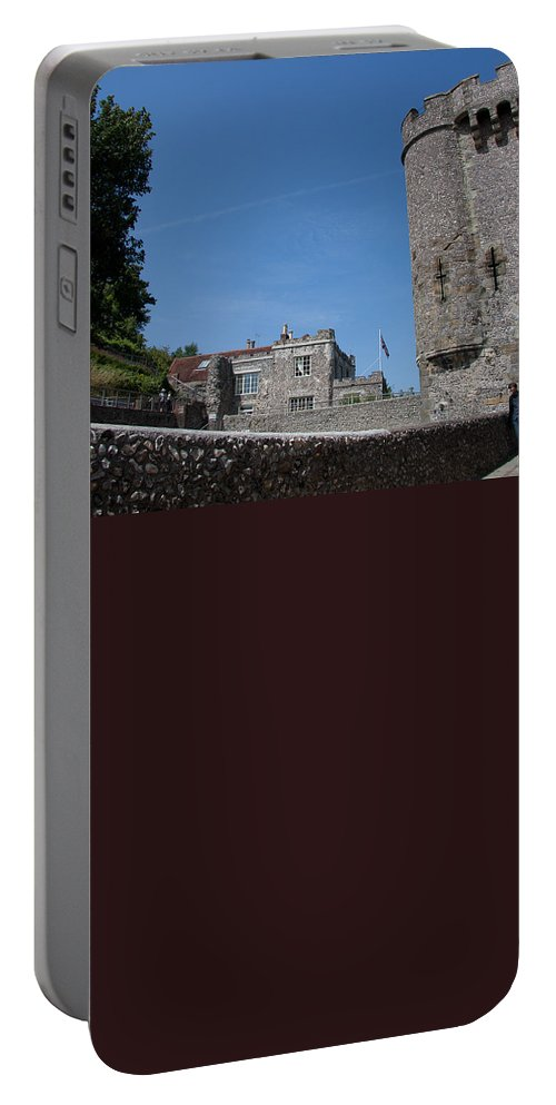 Lewes Castle Portable Battery Charger featuring the photograph Lewes Castle by Dawn OConnor