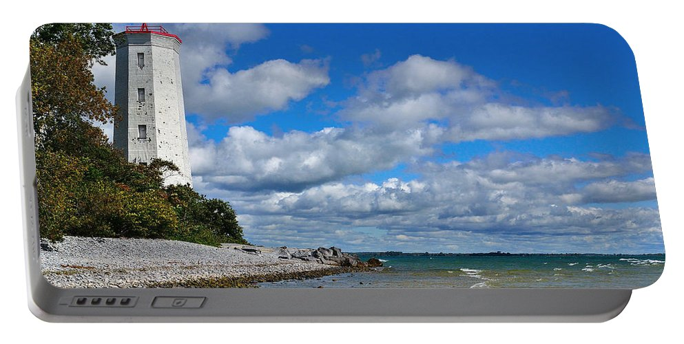 Lighthouse Portable Battery Charger featuring the photograph Lighthouse Dream by Joshua McCullough