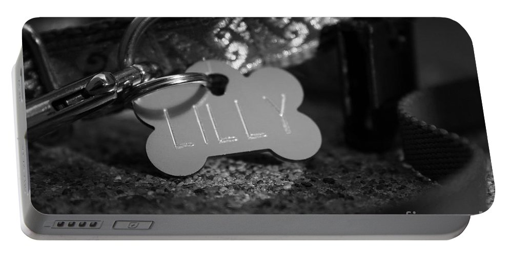 Animal Portable Battery Charger featuring the photograph Lil's by Susan Herber