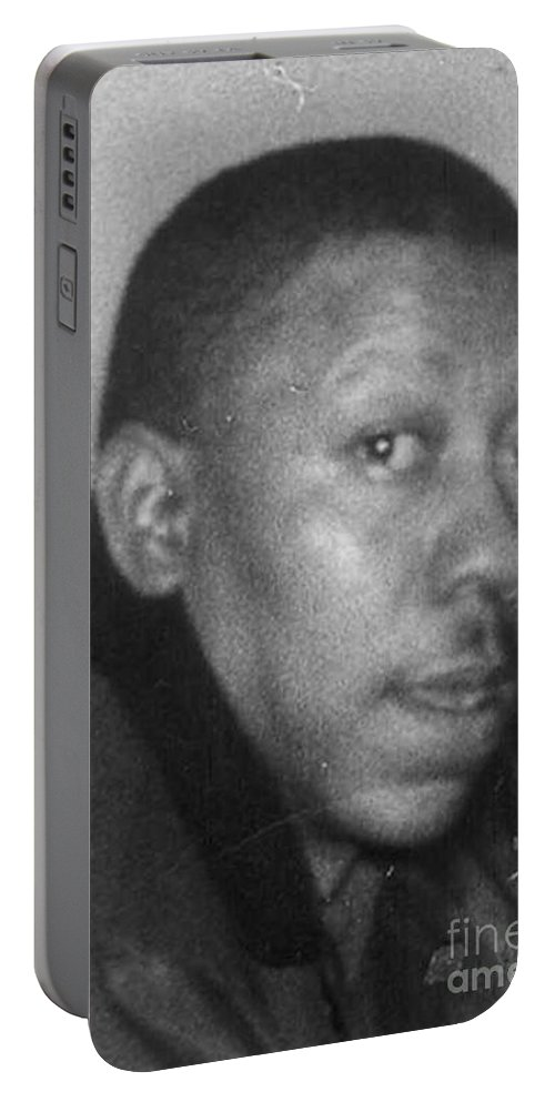 Portable Battery Charger featuring the photograph Lorenzo Walker by Angela L Walker