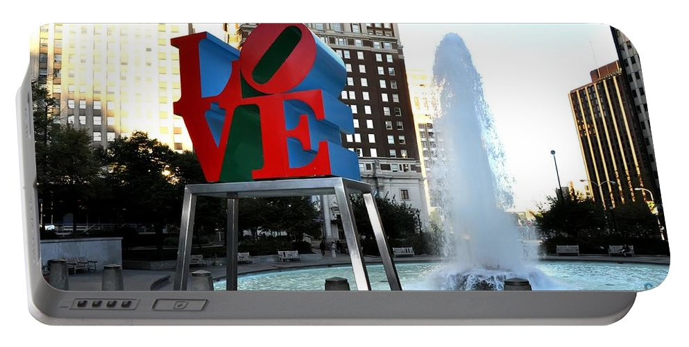 Love Is ..... A Four Letter Word Portable Battery Charger featuring the photograph Love Is ..... A Four Letter Word by Bill Cannon