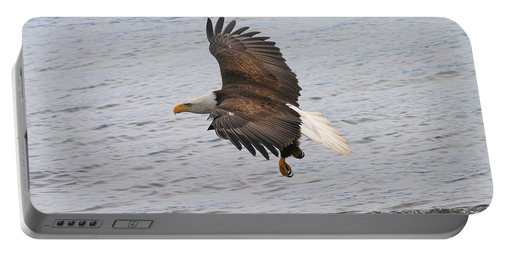Doug Lloyd Portable Battery Charger featuring the photograph Low Pass by Doug Lloyd