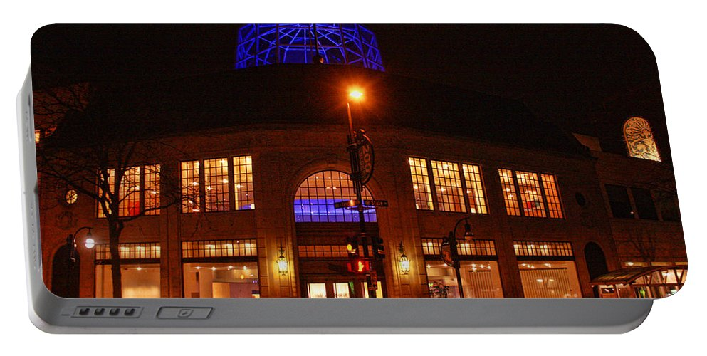 Madison. Wisconsin Portable Battery Charger featuring the photograph Madison Wi Overture Center by Tommy Anderson
