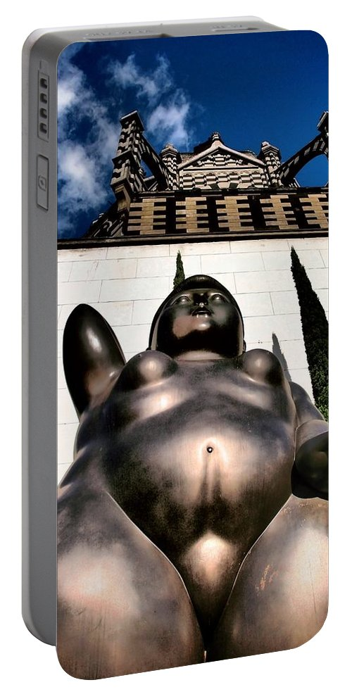 Magdalene Portable Battery Charger featuring the photograph Magdalene by Skip Hunt