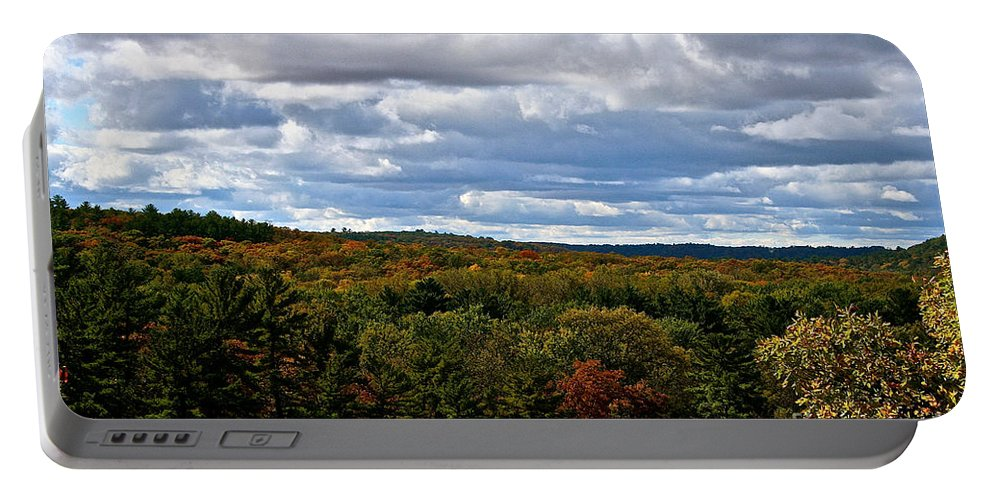 Landscape Portable Battery Charger featuring the photograph Magnificent Minnesota by Susan Herber