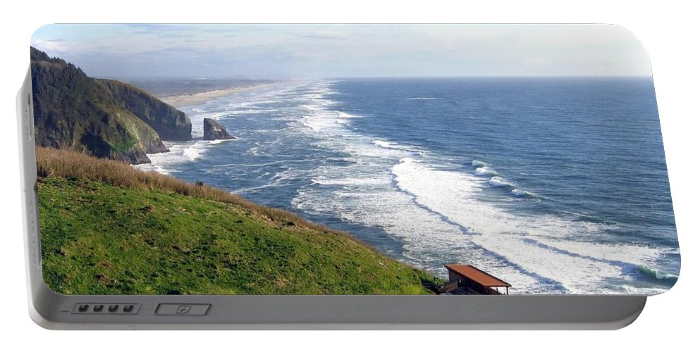 Oregon Coast Portable Battery Charger featuring the photograph Magnificent Oregon Coast by Will Borden