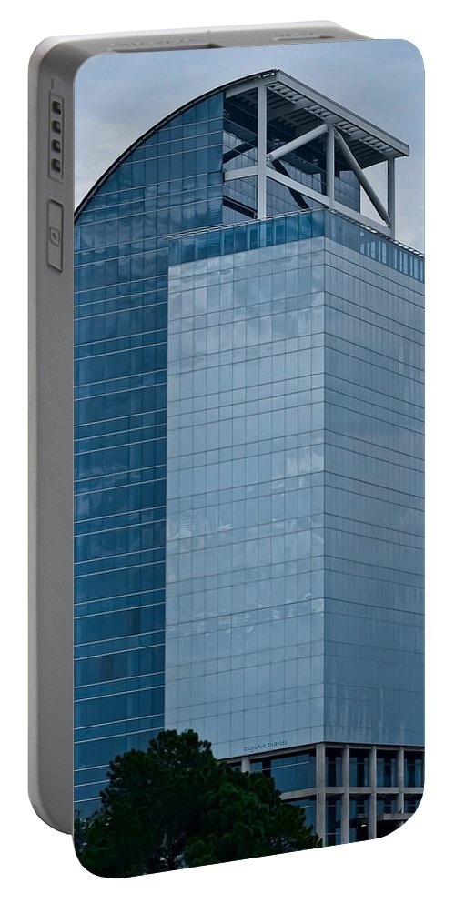 Architecture Portable Battery Charger featuring the photograph Majesty Building by DigiArt Diaries by Vicky B Fuller