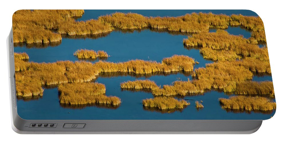 Autumn Color Portable Battery Charger featuring the photograph Map Of The World by Albert Seger